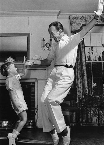 Fred Astaire et son fils